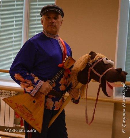 """Это наша самая любимая поделка....за последний месяц)))) Конь был жизненно необходим участнику городского проекта """"Танцующий город"""" фото 5"""