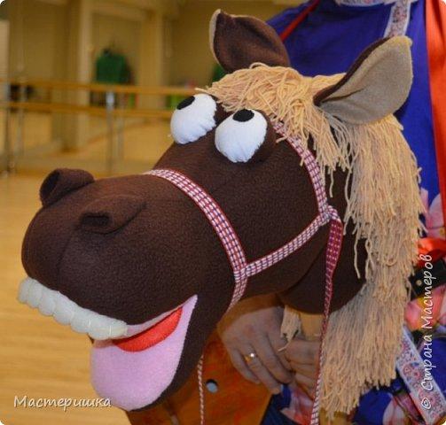 """Это наша самая любимая поделка....за последний месяц)))) Конь был жизненно необходим участнику городского проекта """"Танцующий город"""" фото 1"""