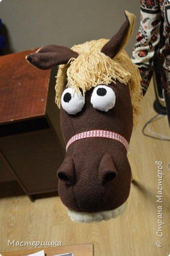 """Это наша самая любимая поделка....за последний месяц)))) Конь был жизненно необходим участнику городского проекта """"Танцующий город"""" фото 4"""