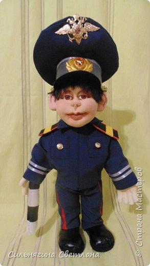 кукла работник ДПС фото 1