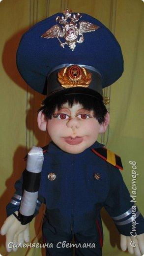 кукла работник ДПС фото 2
