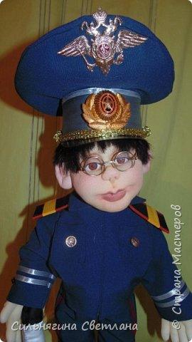 кукла работник ДПС фото 3