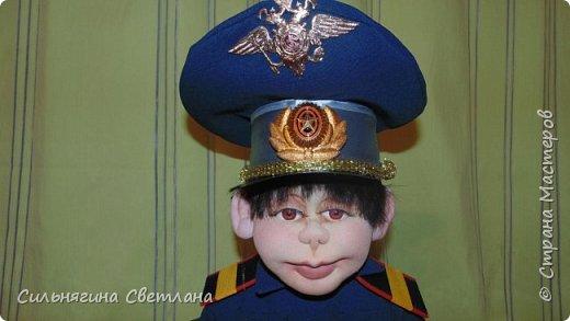 кукла работник ДПС фото 5