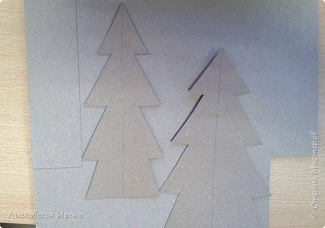 Наступают радостные новогодние праздники. Многим из нас хочется смастерить с детьми несложные и интересные подарки для близких. Предлагаю сделать открытку. Выполняется достаточно быстро и легко. Кто заинтересовался, смотрите дальше. Увидела открытку-киригами https://s-media-cache-ak0.pinimg.com/564x/62/db/0a/62db0ae6a9a77d8567ff144ad5b66471.jpg, решила сделать такую только без применения канцелярского ножа фото 14