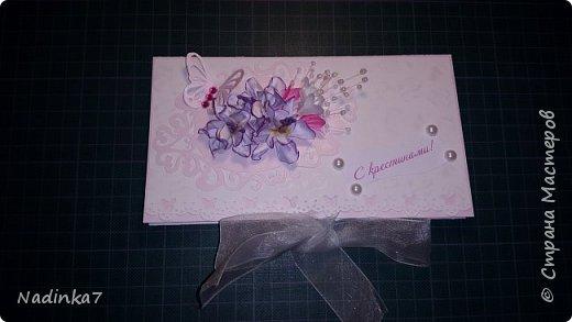 мой первый денежный конвертик, подарила своей подружке! фото 3