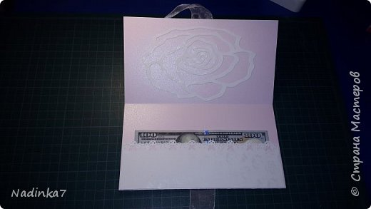 мой первый денежный конвертик, подарила своей подружке! фото 4