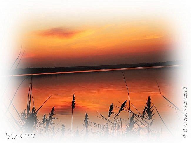 Ах...как  же я довольна собой....слов просто нет! Так и хочется себя похвалить....Но об этом чуть позже..А пока- Здравствуйте все, мои дорогие! Рада встрече с Вами.и снова приглашаю с собой на прогулку  в осенний день в южном городе! Начну со своих любимых закатов...Уже реже выхожу я к реке, потому что  темнеет  рано,солнышко садится  быстро и всё в лёгкой дымке... Есть время прихода особого цвета, что в прелести спорит с самою весной... фото 4