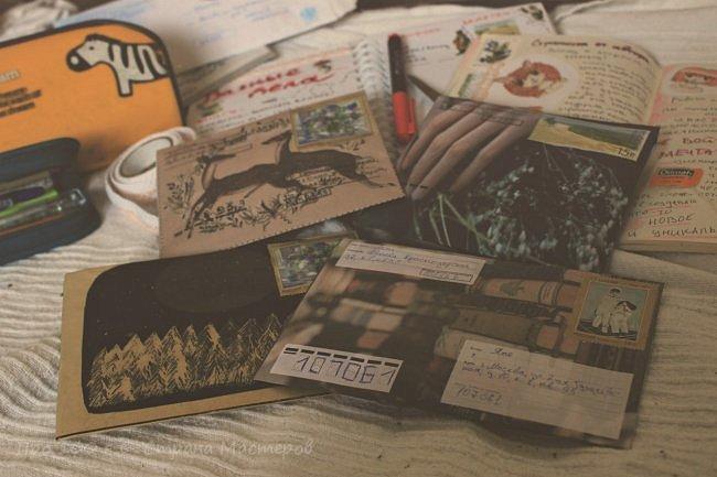 Здравствуй, Страна Мастеров! Я заметила, что здесь редко появляются записи по теме mail art, посткроссинг и бумажные письма. Может кто-то об этом не знает, но это невероятно интересные вещи! Мне захотелось рассказать про это немного и привлечь новых людей к данному увлечению.  фото 20