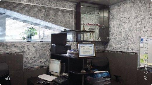 Декоративная штукатурка   в офисном помещении фото 2