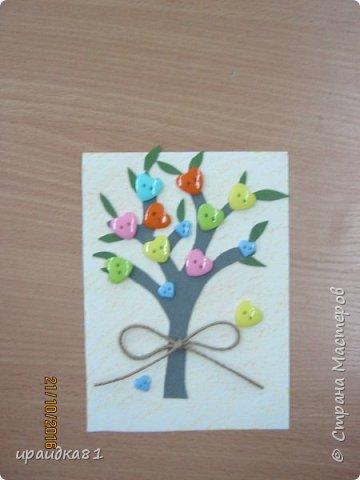 У всех девочек получились замечательные деревья  фото 2