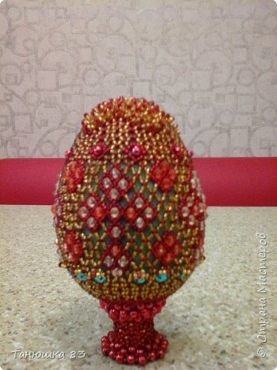 Яйца из бисера.  фото 5