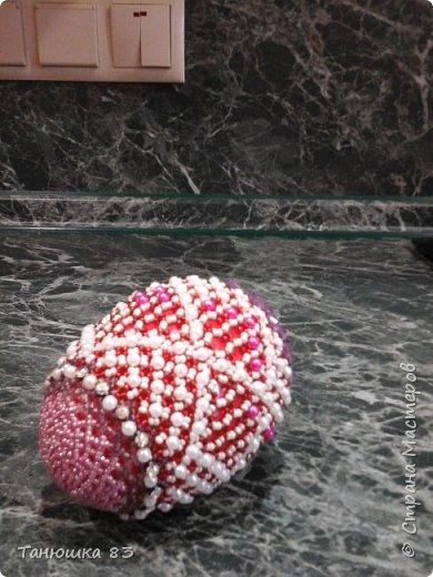 Яйца из бисера.  фото 8