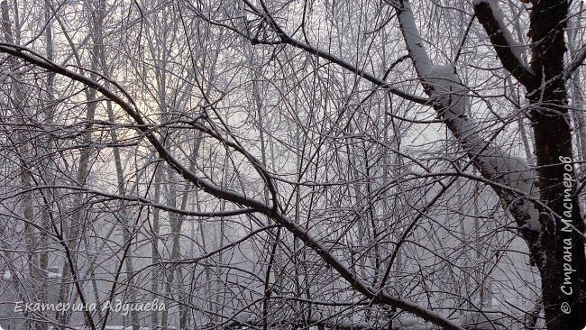 Урал попал в циклон ,морозы немного спали . Пейзажи в центе города сказочные, утром было -23. Не удержалась, чтобы не взять фотоаппарат в руки и не запечатлеть красоту за окном и солнышко в дымке морозной занавеси. Сразу в памяти сплывает добрая сказка  из детства (Морозко-1964 года)   фото 6