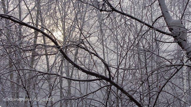 Урал попал в циклон ,морозы немного спали . Пейзажи в центе города сказочные, утром было -23. Не удержалась, чтобы не взять фотоаппарат в руки и не запечатлеть красоту за окном и солнышко в дымке морозной занавеси. Сразу в памяти сплывает добрая сказка  из детства (Морозко-1964 года)   фото 1