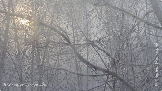 Урал попал в циклон ,морозы немного спали . Пейзажи в центе города сказочные, утром было -23. Не удержалась, чтобы не взять фотоаппарат в руки и не запечатлеть красоту за окном и солнышко в дымке морозной занавеси. Сразу в памяти сплывает добрая сказка  из детства (Морозко-1964 года)   фото 10