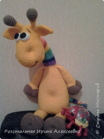 весёлый жирафик фото 2