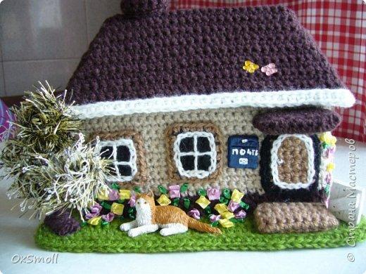 Домик шкатулка, все крыши в домиках открываются. фото 1