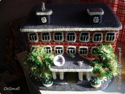 Домик шкатулка, все крыши в домиках открываются. фото 3