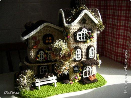 Домик шкатулка, все крыши в домиках открываются. фото 5