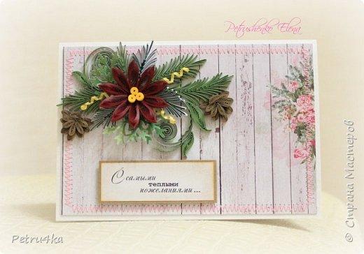 Добрый день! А вот и несколько первых новогодних открыточек! Они все уже разлетелись в разные магазинчики и будут ждать своих счастливых покупателей.  фото 18