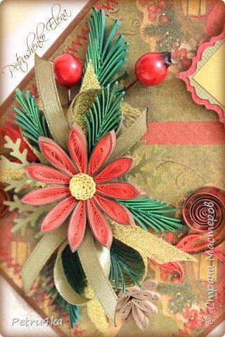 Добрый день! А вот и несколько первых новогодних открыточек! Они все уже разлетелись в разные магазинчики и будут ждать своих счастливых покупателей.  фото 13