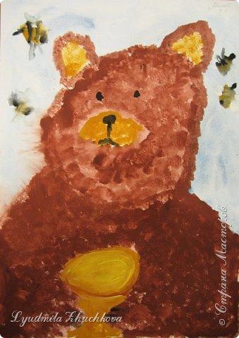 Портрет медвежонка фото 9