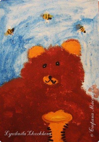 Портрет медвежонка фото 7
