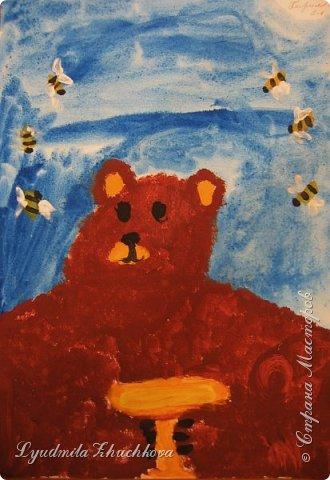 Портрет медвежонка фото 8