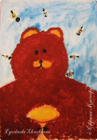 Портрет медвежонка фото 6