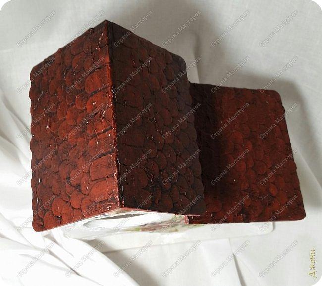 Давно хотела поработать с деревянной заготовкой, и вот для этой цели выбрала чайный домик фото 10