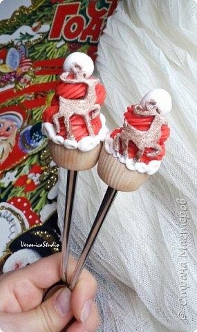 Вкусные ложечки приготовились)) фото 3