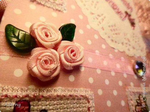 Открытки с вышивкой и вязанными элементами  фото 10