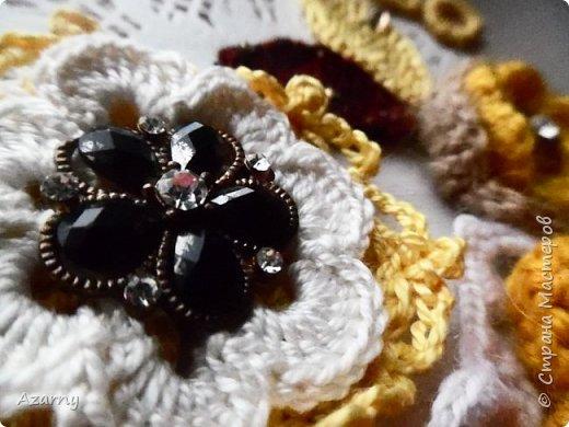 Открытки с вышивкой и вязанными элементами  фото 7