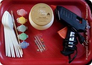 Баночка для хранения всяких разностей. Я храню в ней кисти и карандаши для макияжа. фото 2
