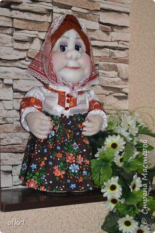 Встречайте! моя бабушка Глаша ...по МК  Ликмы ( Натальи) и Е. Лавреньевой фото 1