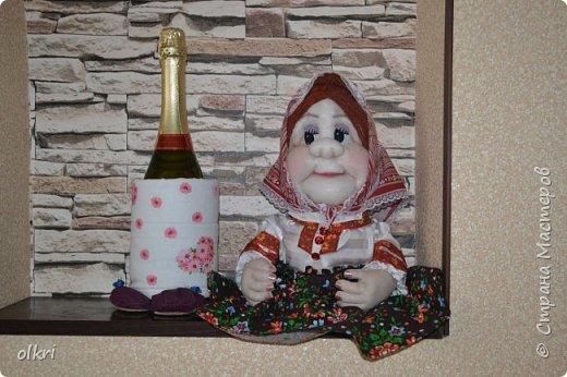 Встречайте! моя бабушка Глаша ...по МК  Ликмы ( Натальи) и Е. Лавреньевой фото 2