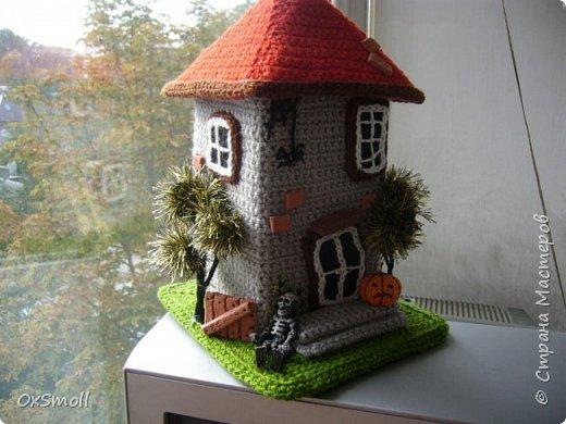 Домик шкатулка, все крыши в домиках открываются. фото 12