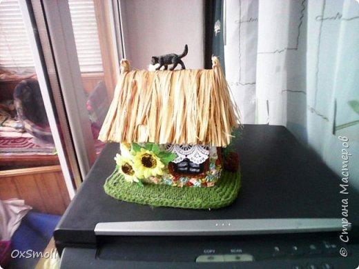 Домик шкатулка, все крыши в домиках открываются. фото 13