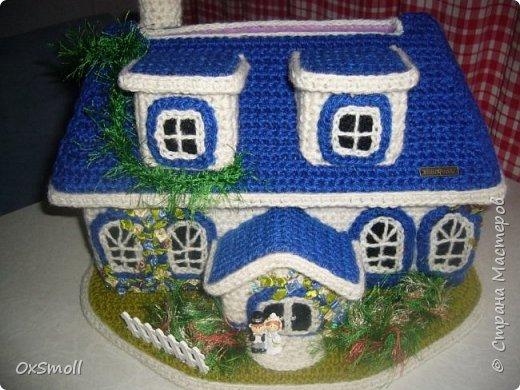 Домик шкатулка, все крыши в домиках открываются. фото 10