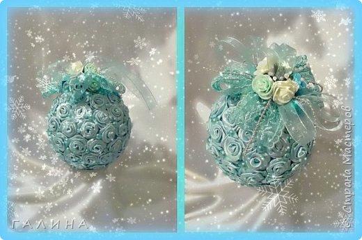 Новогодние интерьерные  комплекты(ёлка,шар) фото 5