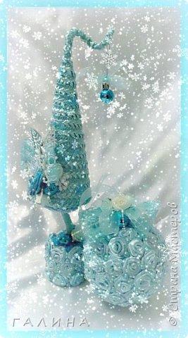 Новогодние интерьерные  комплекты(ёлка,шар) фото 4