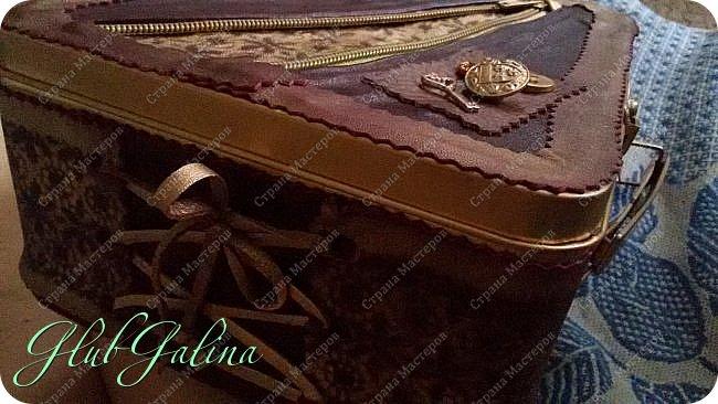 ...шкатулка для швейных принадлежностей.... фото 3