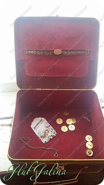 ...шкатулка для швейных принадлежностей.... фото 4