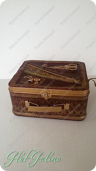 ...шкатулка для швейных принадлежностей.... фото 12