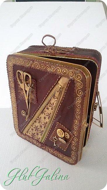 ...шкатулка для швейных принадлежностей.... фото 9
