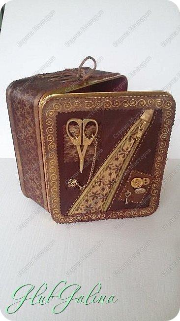 ...шкатулка для швейных принадлежностей.... фото 10