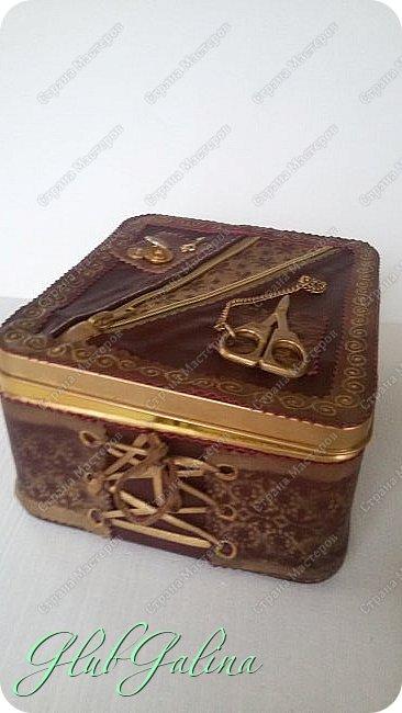 ...шкатулка для швейных принадлежностей.... фото 11