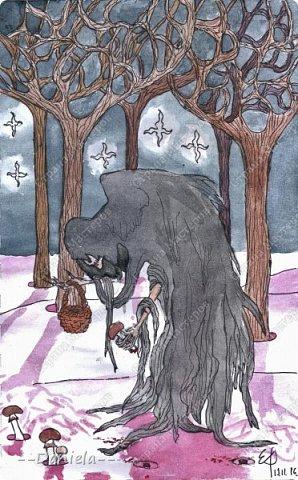 Продолжаю рисовааааать... Воот... У мамы недавно был День Рождения, вот такое вот нечто вышло) Мама по году собака, так что псина - это святое:) фото 16