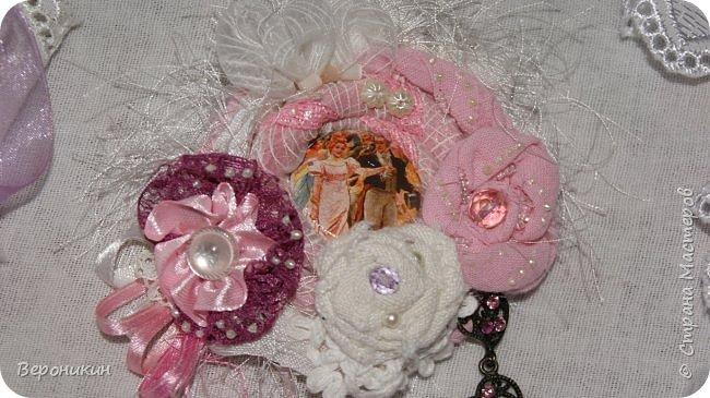 Ко Дню Матери сделала для моей мамочки брошь в стиле Бохо. фото 2