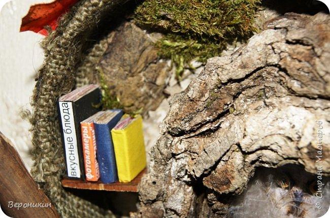 На праздник осени в садик мы с дочкой принесли такую поделку из природных материалов.  фото 5